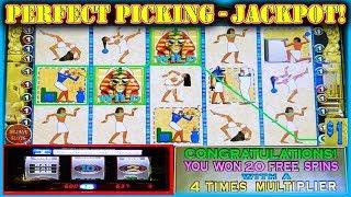 •• WIFE'S PERFECT PICKING AMAZING JACKPOT! •• PHARAOHS FORTUNE HIGH LIMIT