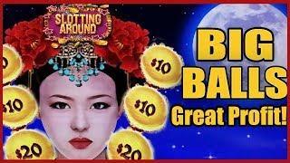 Dragon Link Autumn Moon part 2! Big Balls Nice profit! Amazing Run!