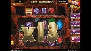 Bonanza - Diamonds With Big Multiplier!