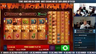 BIG WIN!!! Roman Legion Extreme BIG WIN - Casino Games - free spins (gambling)