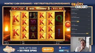 NEW BLUEPRINT LEGACY OF RA SLOT!! Bonus Buys & Big Wins! Insane Slot!