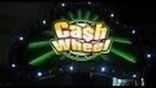 Cash Wheel Slot Machine Bonus- 5 dollar denomination