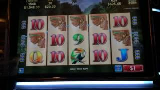 African Diamond line hit high limit slots $20 bet