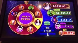 Monster Progressive Slot Machine BONUS! PROGRESSIVE JACKPOT WHEEL SPIN!!! • DJ BIZICK'S SLOT CHANNEL