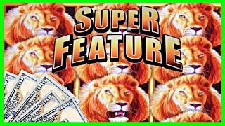 •  MY FIRST SUPER FEATURE! • SUNSET KING SLOT • EZ Life Slot Jackpots