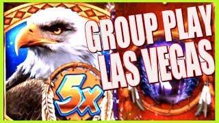 SNAP!!! Las Vegas Group Play! Bonus Chasers! | Slot Traveler