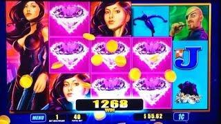 ++NEW: Agent Crossbow Slot Machine - Live Play With Bonus