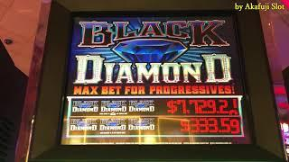 Slot Play•December 15th at San Manuel Casino•Part 3 of 3 [Black Diamond] [progressive jackpot]