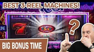 ⋆ Slots ⋆ THE BEST 3-REEL MACHINES ⋆ Slots ⋆ $50/Spin on Pinball, Double Gold, Double Top Dollar, &