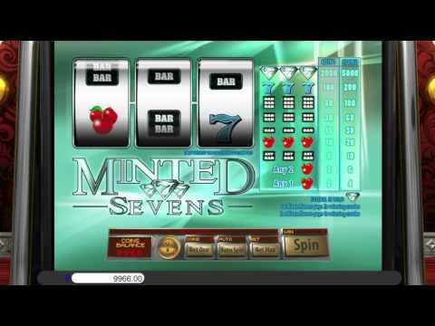 Free Minted Sevens slot machine by Saucify gameplay ★ SlotsUp
