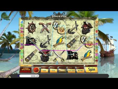 Free Pieces of Eight slot machine by Saucify gameplay ★ SlotsUp