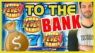 • HIGH LIMIT Slots • To the Bank! • Slot Machine Pokies w Brian Christopher