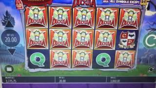 £20 spin win on Count Duckula
