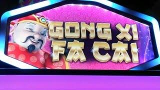 Gong Xi Fa Cai Slot Live Play and Progressive Feature at Pechanga Resort and Casino