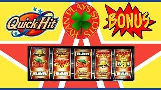 Quick Hit Slots Blazing 7's Wild Jackpot with Free Games Fever | Progressive Win!!