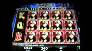 Black Widow Bonus Round