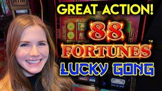 How Lucky Will I Be? 88 Fortunes Lucky Gong Slot Machine!