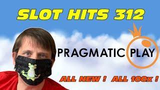 Slot Hits 312: Pragmatic Play - All 100x hits !