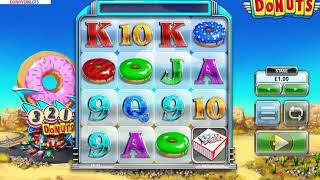 DONUTS! New Slot from BIG TIME GAMING Brilliant!