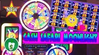 •️ NEW - Cash Safari Moonlight Mighty Cash slot machine, bonus