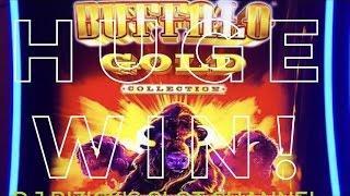 ~* HUGE WIN *~ Buffalo Gold Super Free Games ~ WONDER 4 SUPER WHEEL SLOT MACHINE! ~ AWESOME WIN!! •
