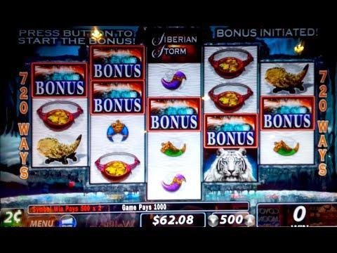 Siberian Storm Slot Machine Big Wins