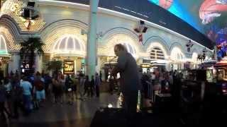 Saxophonist Carl Ferris LIVE in 4K HD at Fremont Street - Downtown Las Vegas!