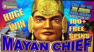 • 100+ Free Spin Bonus on Mayan Chief - Massive Win • - Hard Rock Las Vegas