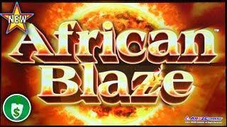 •️ New - African Blaze slot machine, bonus