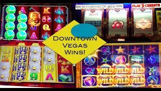 GOLD BONANZA WINS in Downtown Vegas ~ OCEAN MAGIC ~ Top Dollar and More Slot Machine Bonuses!