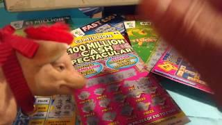 Scratchcards..Fast 500 & 50..Cash Spectacular..9x Lucky..Cash Word..Lucky Lines Millionaire 7's