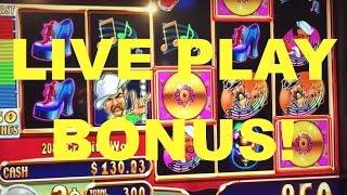 LIVE PLAY and Bonus on Village People Money Burst Slot Machine