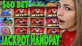 AH-MAZING HANDPAY on $60 BET at Wind Creek! WHAT A JACKPOT!