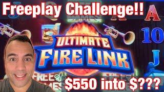 $550 Free Play Challenge @ Cosmo!   Gold Bonanza   Jolly Emperor   Ultimate FIRE LINK •