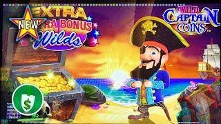 •️ New - Wild Captain Coins Class II slot machine, bonus