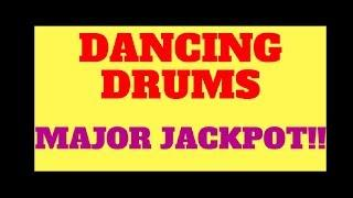 CHA-CHING MAJOR PROGRESSIVE JACKPOT on Dancing Drums!