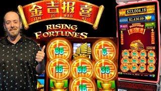 First Look •RISING FORTUNES• LIVE PLAY | FREE SPINS