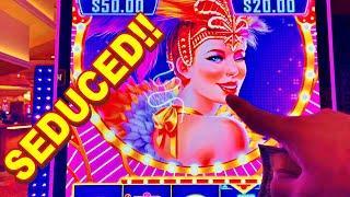 I WAS SEDUCED!!!* SHE WINKED AND TOOK ADVANTAGE OF ME!!! - New Las Vegas Casino Slot Machine Bonus
