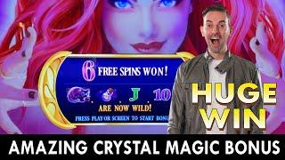 ⋆ Slots ⋆ This Slot Machine is PURE MAGIC ⋆ Slots ⋆ Accidental Bets of $25 TWICE - Pays Off!