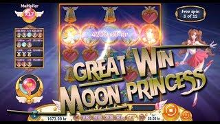 Great win in Moon Princess bonus
