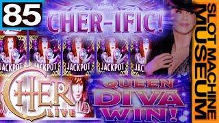 CHER LIVE (Bally) - IN 4K - [Slot Museum] ~ Slot Machine Review