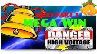 DANGER HIGH VOLTAGE (BIG TIME GAMING) MEGA BIG WIN! JINGLE THE BELLS PART ONE