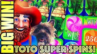 WINNING! TOTO SUPER SPINS! MUNCHKINLAND & ALL ABOARD! ⋆ Slots ⋆ WINNING AT MGM NATIONAL HARBOR! SLOT MACHINE