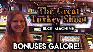 Turkey Shoot! Slot Machine! Plenty of BONUSES!