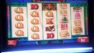 Jumpin Jalapenos $.02 denom Bonus Big Win