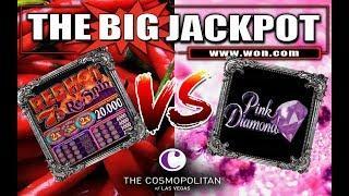 • Red Hot 7's Re-Spin Slot Machine V.S. Pink Diamond @ The Cosmopolitan, Las Vegas •