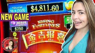 •High Limit Rising Fortunes Slot Machine at Cosmo Las Vegas!•