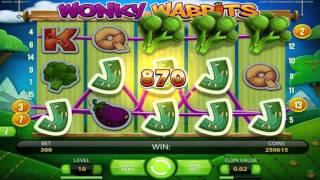 Wonky Wabbits• free slots machine by NetEnt preview at Slotozilla.com