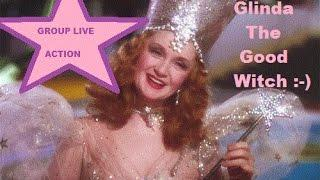 LIVE GROUP PLAY - GLINDA the GOOD WITCH w/BRENT, COLLINS(my hub) & Slot Chick