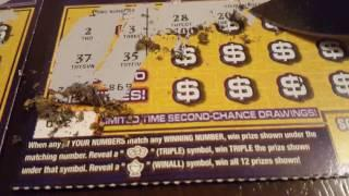 Rest of scratching $355 worth of PA lottery tickets!
